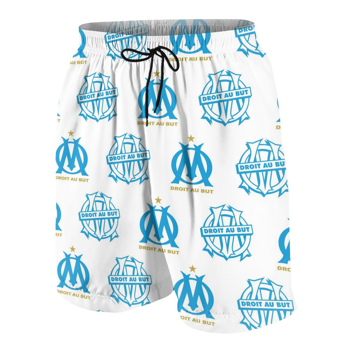 Olympique De Marseille Youngsters Shorts Joggers Quick-dry Cool Short Pants Casual Beach Sweatpants