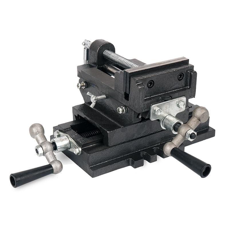 كماشة متقاطعة 3 بوصة/4 بوصة/5 بوصة ، خاصة لحفر الطاولة ، ملزمة متحركة ثنائية الاتجاه ، لآلة الحفر والطحن ، ملزمة العمل