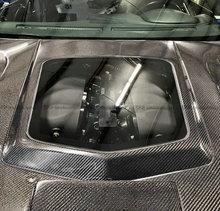 For Nissan GTR R35 CBA DBA CLR Style Carbon Fiber Side Hood (Engine bay transparent)