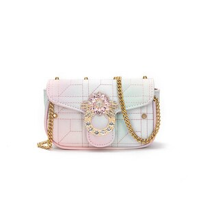 Crossbody bag bolso jovenes moda rainbow small crossbody bags sling bags for women girls crossbody