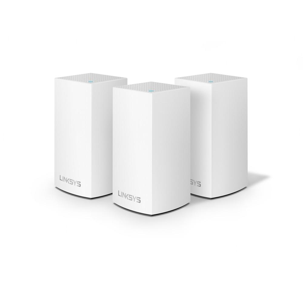 Linksys WHW0103 (AC3900)-نظام WiFi متصل ، للمنزل بالكامل ، شبكة WiFi ، أبيض ، 3 وحدات