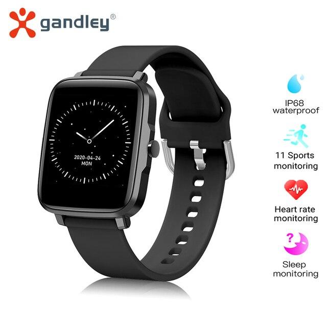 GandlEy F2 Watch Smartwatch Smart Watch Men Women Android IOS Bluetooth Smartwatch 2021 Passometer Smart Watch For Xiaomi