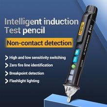 Nouveau testeur de LED VD409B testeur de détecteur de tension ca sans Contact compteur 12V-1000v