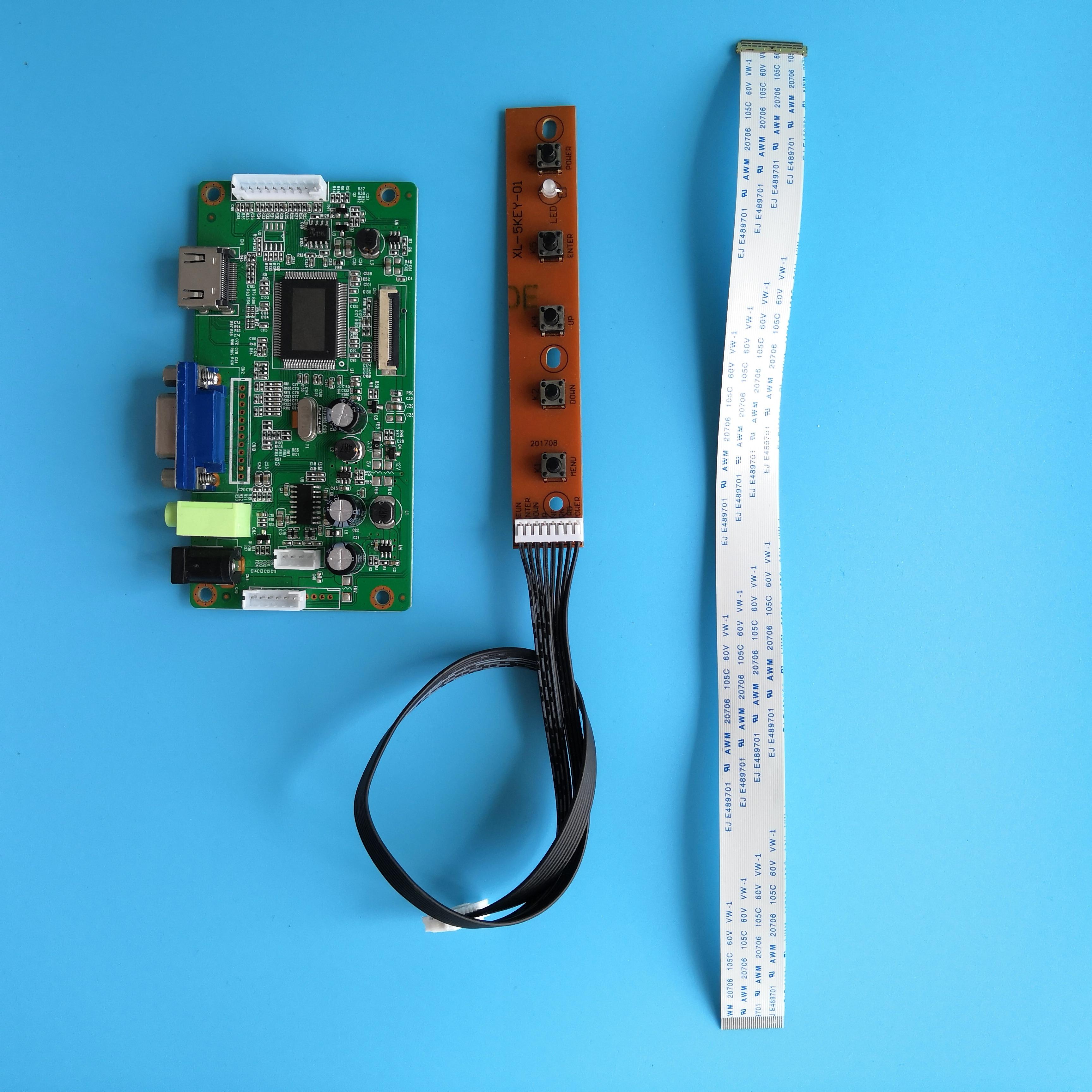 ل NV156FHM-N63 LCD لتقوم بها بنفسك رصد سائق عدة VGA 1920X1080 شاشة عرض 30Pin LED EDP EDP HDMI تحكم مجلس 15.6