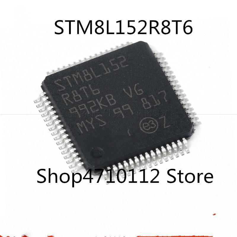 Free Shipping 10PCS/LOT NEW STM8L152R8T6 STM8L152 R8T6 LQFP-64