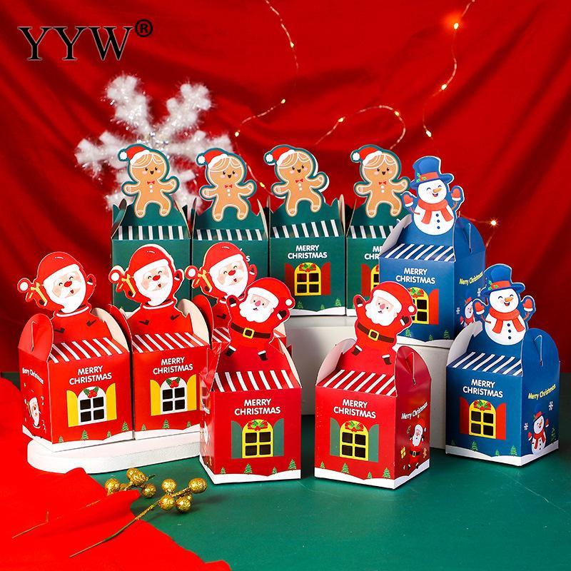 Оптовая-продажа-1-шт-бумажная-упаковочная-Подарочная-коробка-Рождественский-дизайн-Санта-Снеговик-имбирь-картонная-коробка-с-принтом-Мила