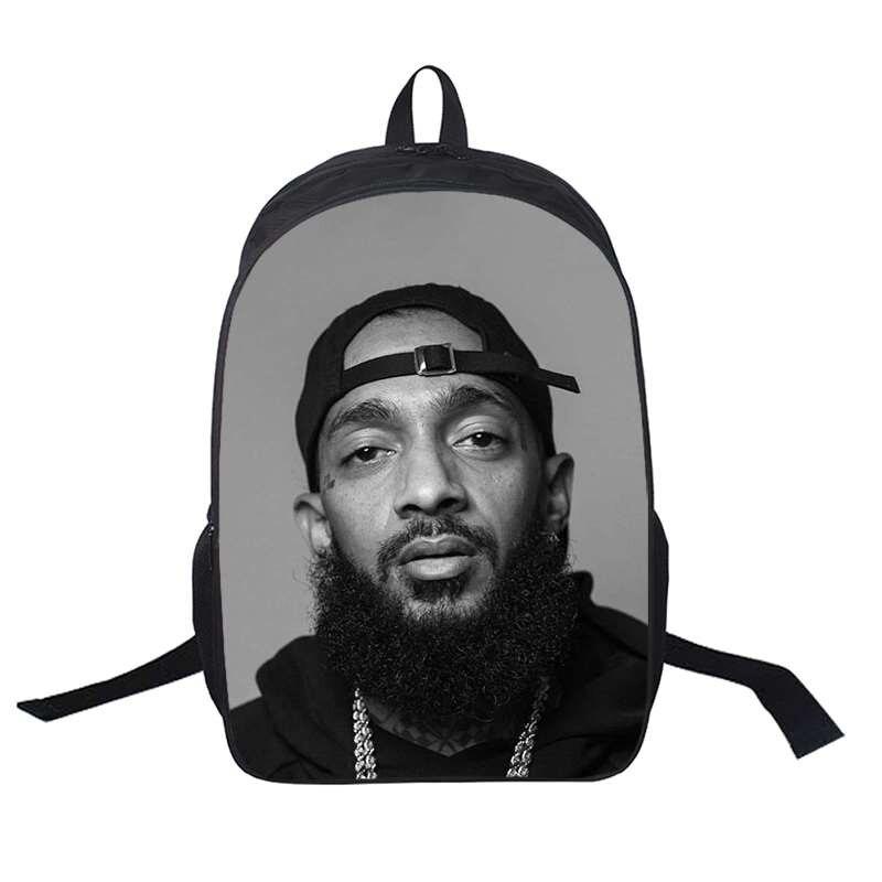 школьная форма coccodrillo кардиган для мальчика back to school boy Nipsey Hussle Student Backpacks Super Star Print Laptop Book Bag for Boy Girl Bagpack School Back To School Best Gift Backpack