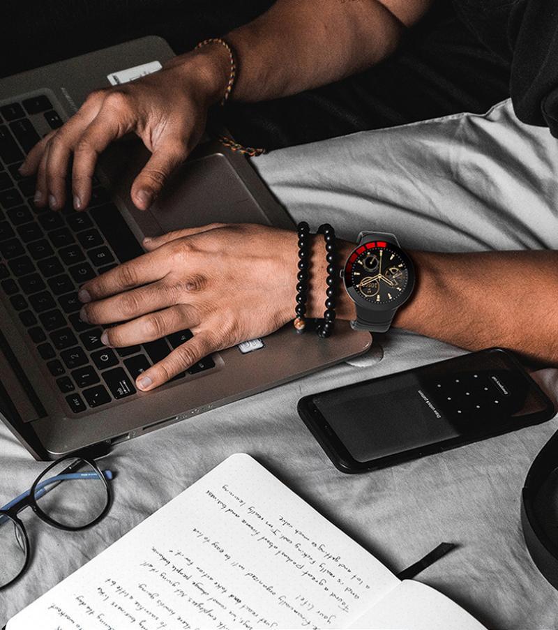 Sanda New E3 Smart Watches Bracelet Monitoring Multi-Function Remind Sports Intelligent Watch For Men Women