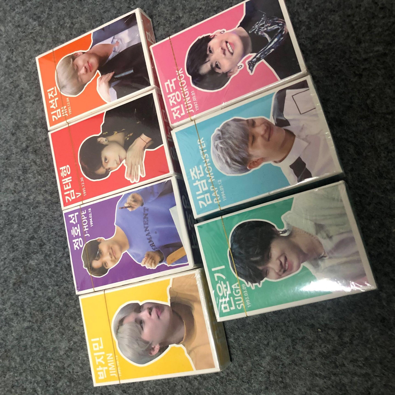 Carteles de grupos surcoreanos K-POP Bangtan, LOVE Yourself, carteles de mapa del alma Persona, tarjetas LOMO, pegatinas de pared para sesión fotográfica, moda
