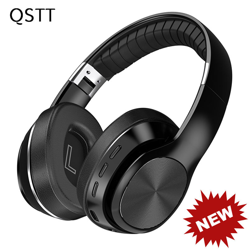 New VJ320 HiFi Headphones Wireless Bluetooth 5.0 Foldable Support TF Card/FM Radio/Bluetooth Stereo Headset With Mic Deep Bass