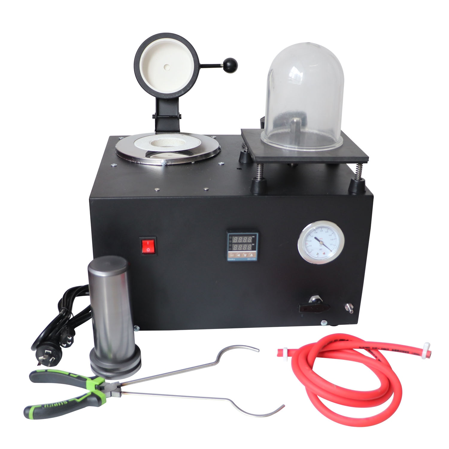 110V/220V 1-3kg Casting and Smelting Machine Large Digital Display High Temperature Refining Precious Metal Gold and Silver
