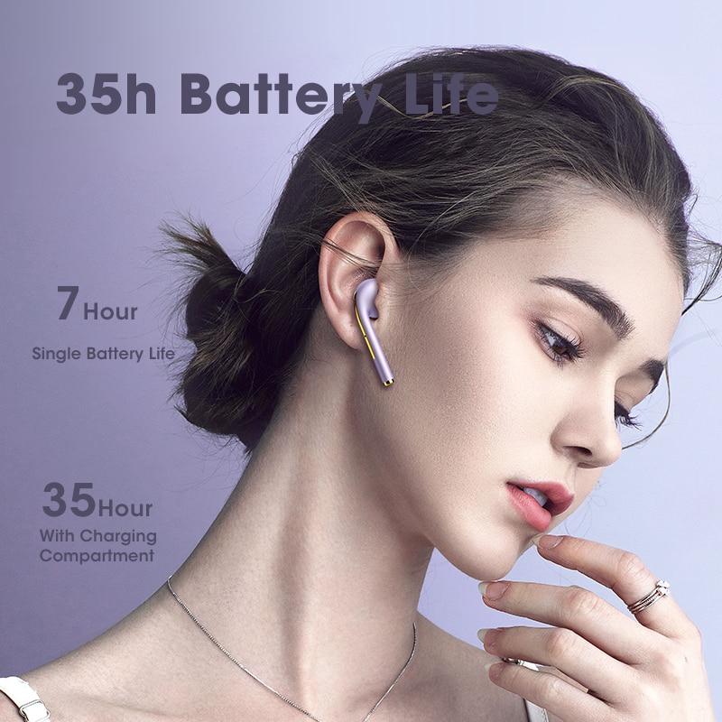 TWS Bluetooth Headphones J18 In Ear Buds Wireless Earphones with Microphone Waterproof Gaming Headset for Mobile Phone Earbuds enlarge
