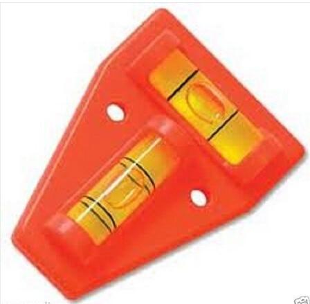 For Adjusting Angle Level Measuring Instrument Multipurpose 2 Way Spirit Level T Shape Orange Spirit Type Level Bubble Level