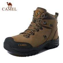 CAMEL hommes femmes haut haut chaussures de randonnée 2019 Durable imperméable anti-dérapant en plein air escalade Trekking chaussures bottes tactiques militaires