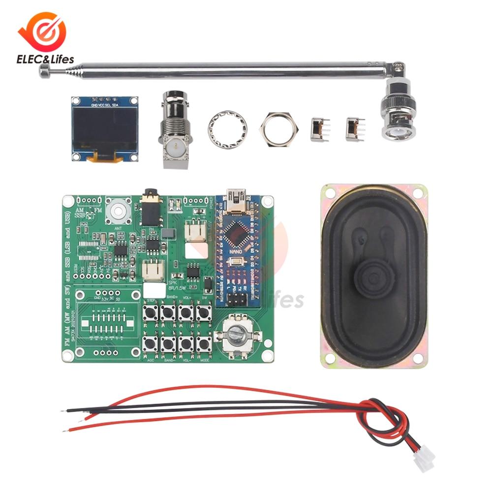 SI4732-مستقبل راديو FM ، نطاق تردد AM (MW و SW) و SSB (LSB و USB) ، متوافق مع هوائي سماعة الرأس