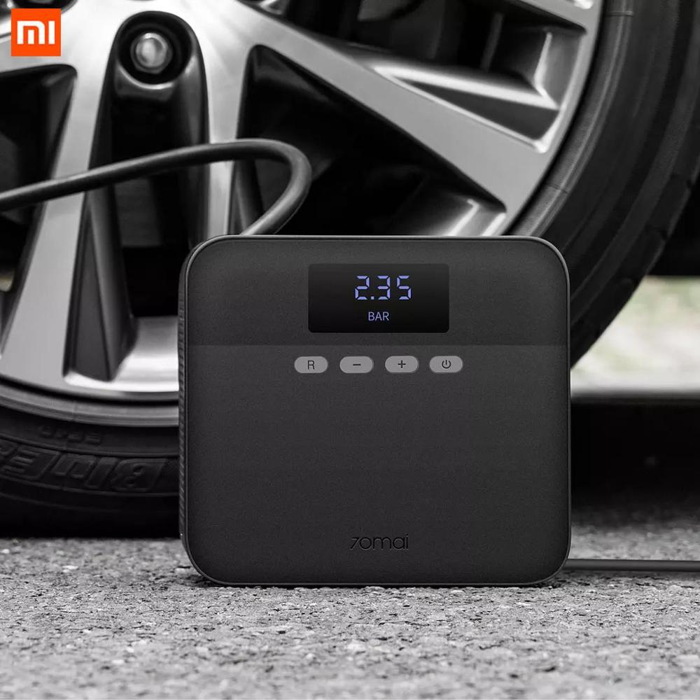 Xiaomi-bomba inflable inteligente Mijia, bomba de inflado Digital LED de 12V, carga rápida, edición joven