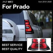 AKD Car Styling for Toyota Prado Tail Lights 2010-2019 Prado LC150 LED Tail Lamp DRL Signal Brake Reverse auto Accessories