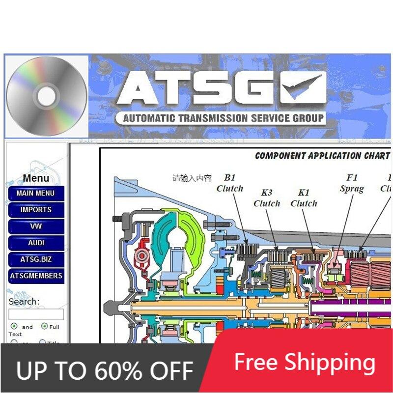 2021 программное обеспечение для ремонта автомобиля 2017 ATSG программное обеспечение для ручной диагностики Автоматическая передача информаци...