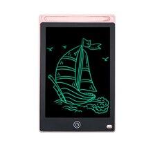 Belle couleur rose Lcd tablette décriture 8.5 pouces électronique dessin tableau décriture graphique tablette école ultra-mince tablette