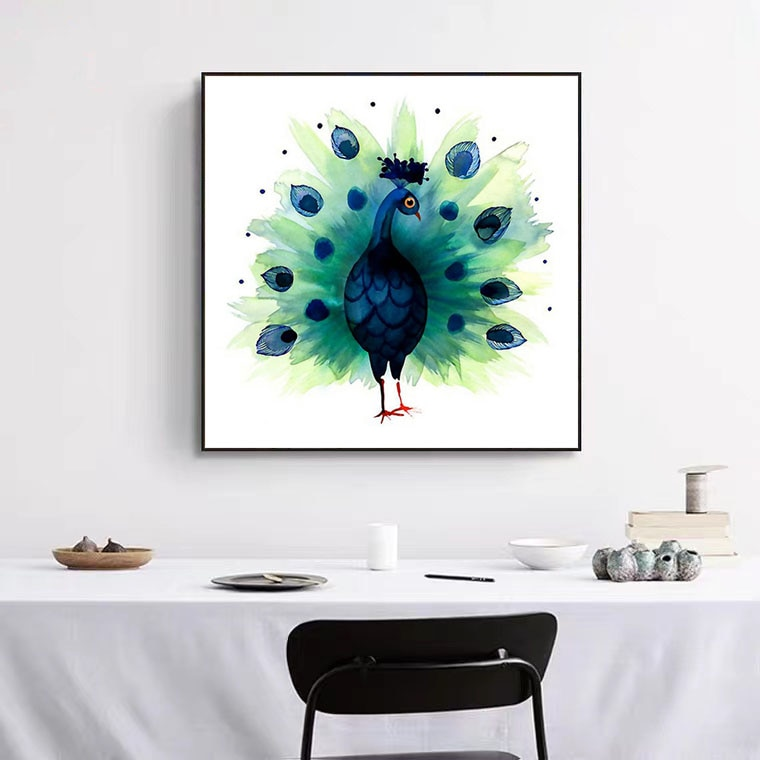 GMAIL Digital Oil Painting New DIY Living Room Animal Illustration Digital Painting Oil Painting Decoration 2021 (frameless)