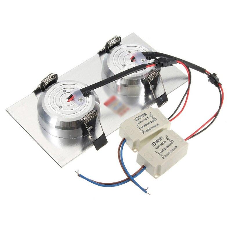 Super brillante empotrada led regulable Downlight COB 3W 5W 7W 10W 14W foco de techo de led lámpara de techo LED AC 110V 220V