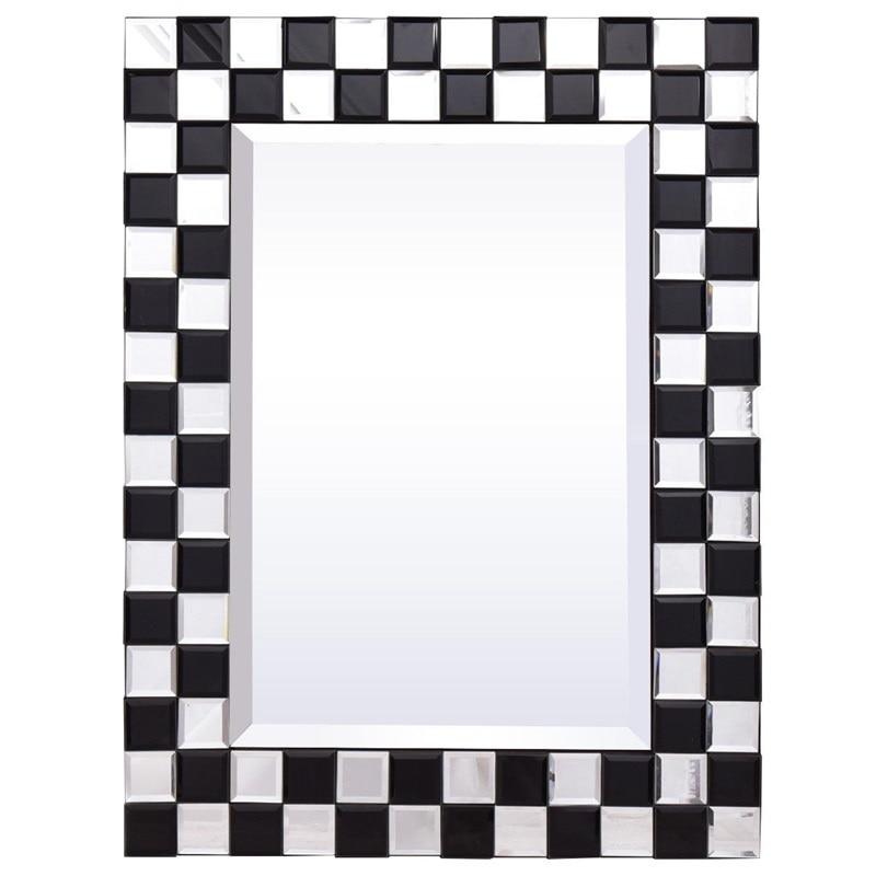 "Marco de espejo de baño de madera Rectangular montado en la pared de 23,5 ""x 31,5"" HW56057"