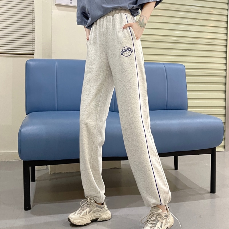 Cost-Effective Scale Autumn Trousers Loose