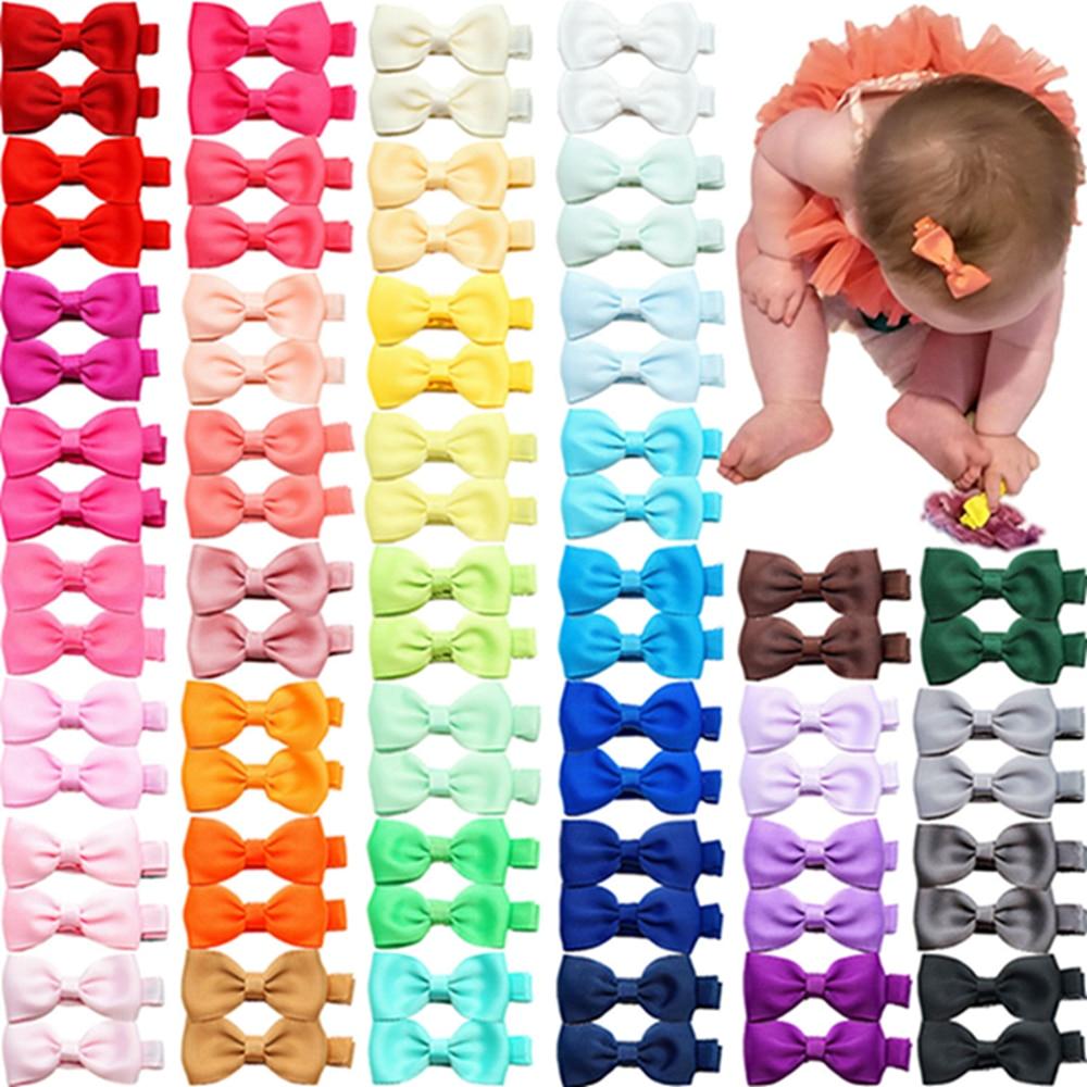10pcs-lot-solid-color-grosgrain-ribbon-bowknot-toddler-hair-clips-handmade-bows-baby-girls-barrettes-bangs-hairpins-photo-props