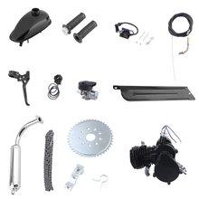 80cc 2 temps moteur moteur Kit pour vélo motorisé vélo à essence noir bricolage motorisé vélo remplacement