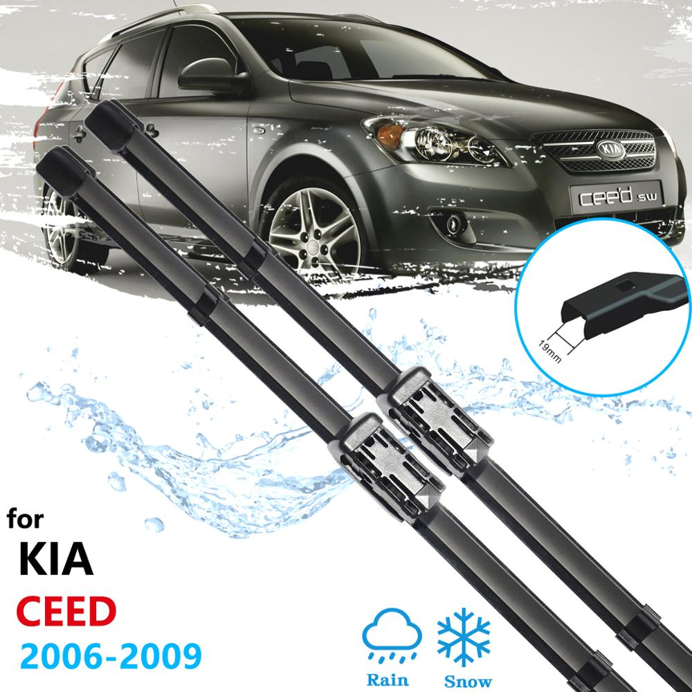 Escobilla limpiaparabrisas de coche para Kia Ceed 2006 ~ 2009 ED limpiaparabrisas para Hyundai I30 2007 ~ 2010 accesorios de coche 2008