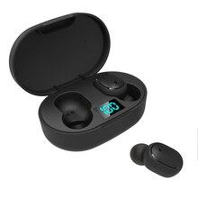 LEVANA E6S TWS Bluetooth 5.0 Headphones Stereo True Wireless Earbuds In Ear Handsfree Earphones spor