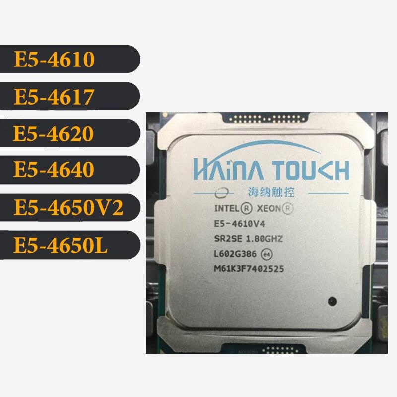 Intel Xeon E5-4610 cpu 4617 E5 4620 4640 E5 4650v2 4650L
