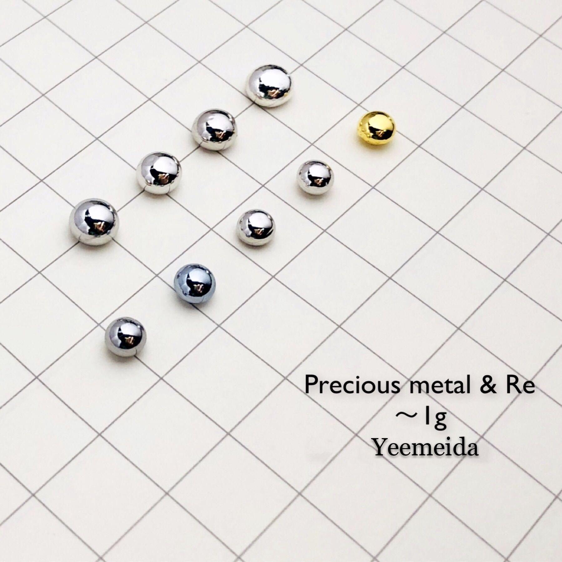 Metal precioso osmio rutenio oro platino rodio paladio iridio plata Metal renio