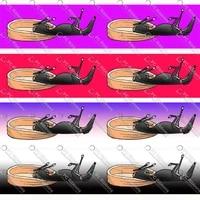 16 75mm cute greyhound printed custom dog design cartoon for diy crafts hair bow collar lanyardsatin grosgrain ribbon ca340