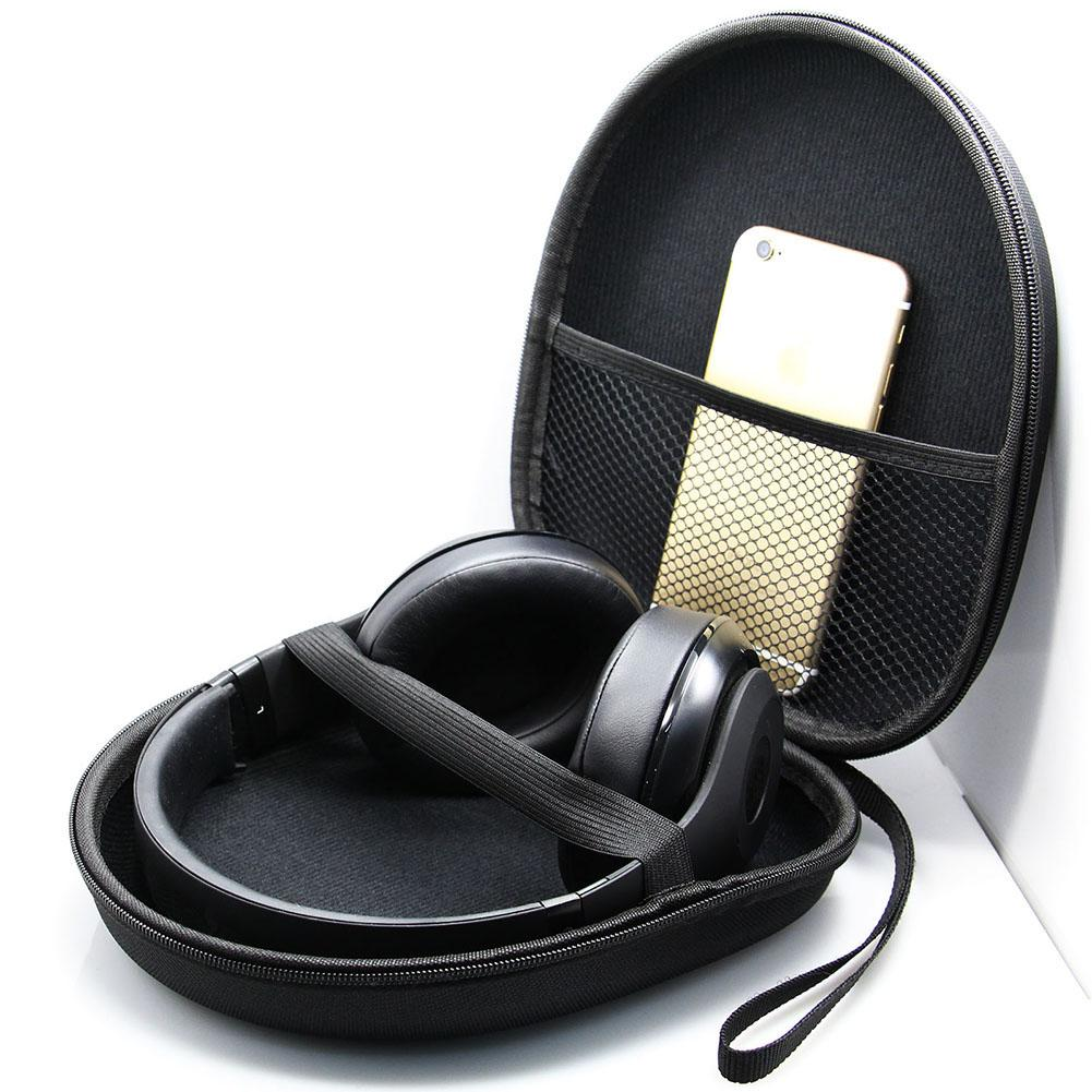 Portable Headphone Case Headphone Carrying Case for Sony V55 NC6 NC7 NC8 Headphone Data Cable Storage Box Headphone Accessories