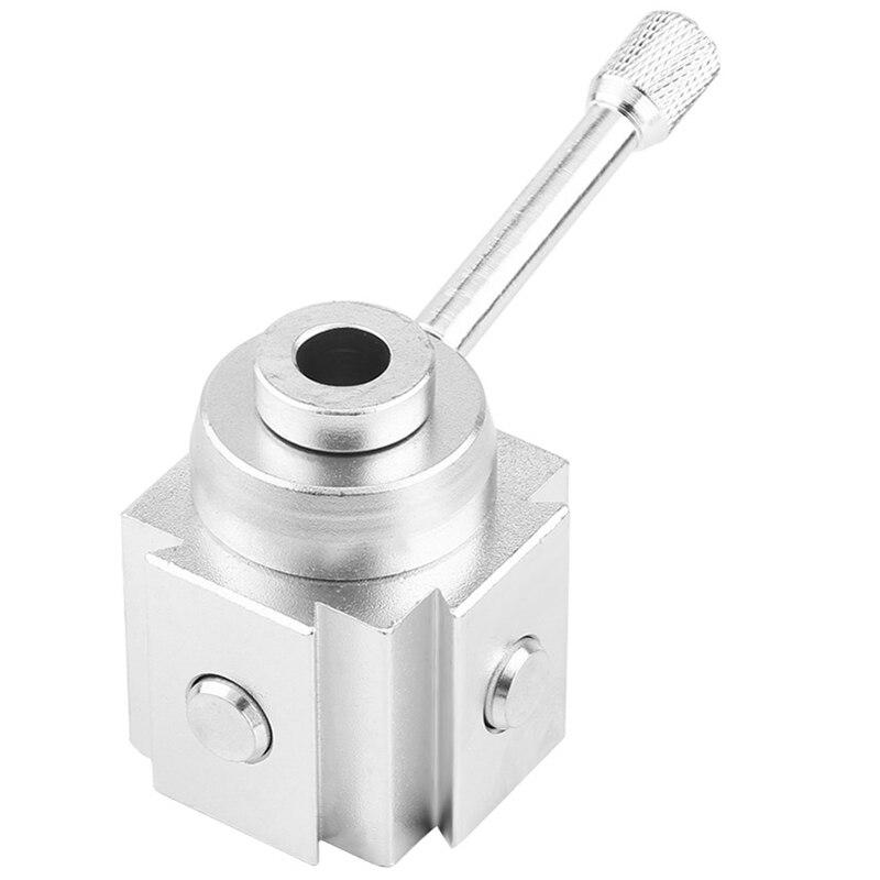 2951-6001 Piston Type Locking Tool Post Steel Quick Change Tool Post Lathe Tools