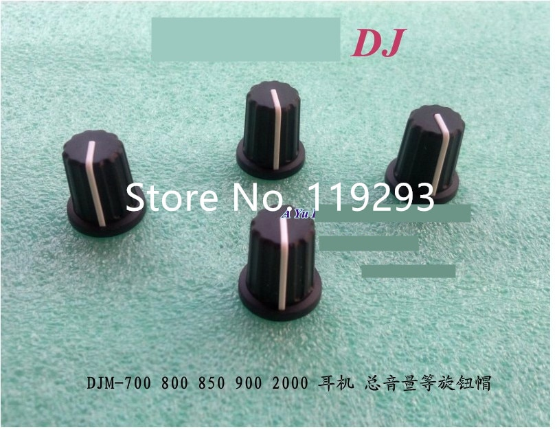 [BELLA] original  DJM-700 800 850 900 2000 Headphone volume KNOB CAP potentiometer cap --20PCS/LOT