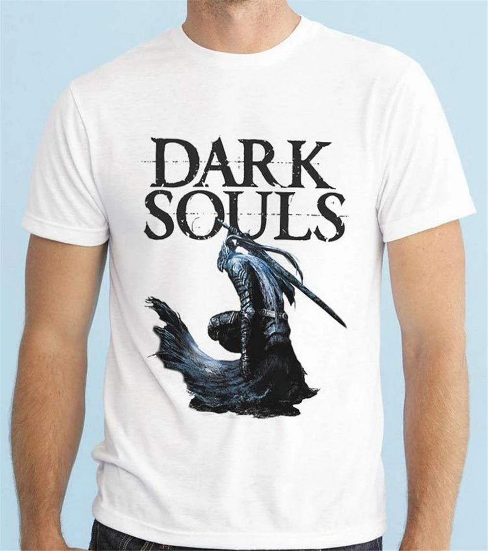 DARK SOULS ARTORIAS THE ABYSSWALKER VIDEOGAME PLAYSTATION T SHIRT Festive Tee Tshirt