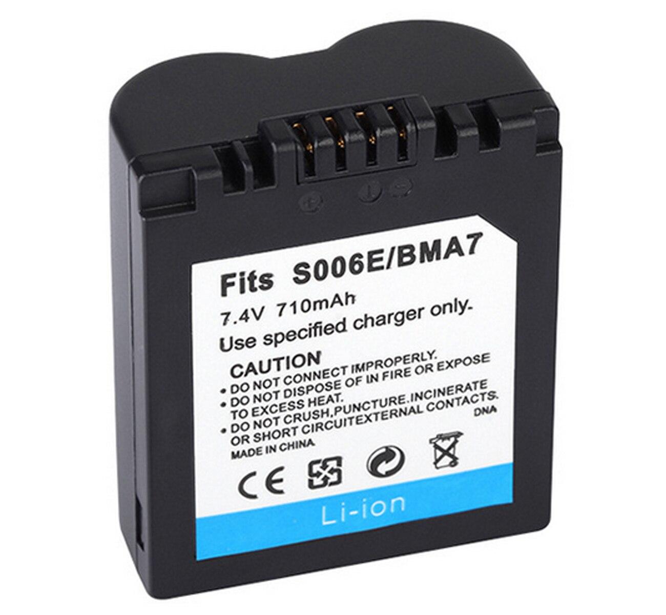 Pack de batería para Panasonic Lumix DMC-FZ7, DMC-FZ8, DMC-FZ18, DMC-FZ28, DMC-FZ30, DMC-FZ35, DMC-FZ38, DMC-FZ50, cámara Digital