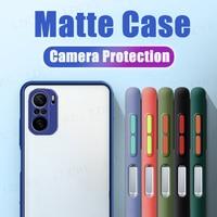 Чехол для Xiaomi Redmi Note 10, Матовая рамка, Защита камеры, армированный чехол для Xiaomi Redmi 10, чехол для Xiaomi Redmi Note 10 Pro