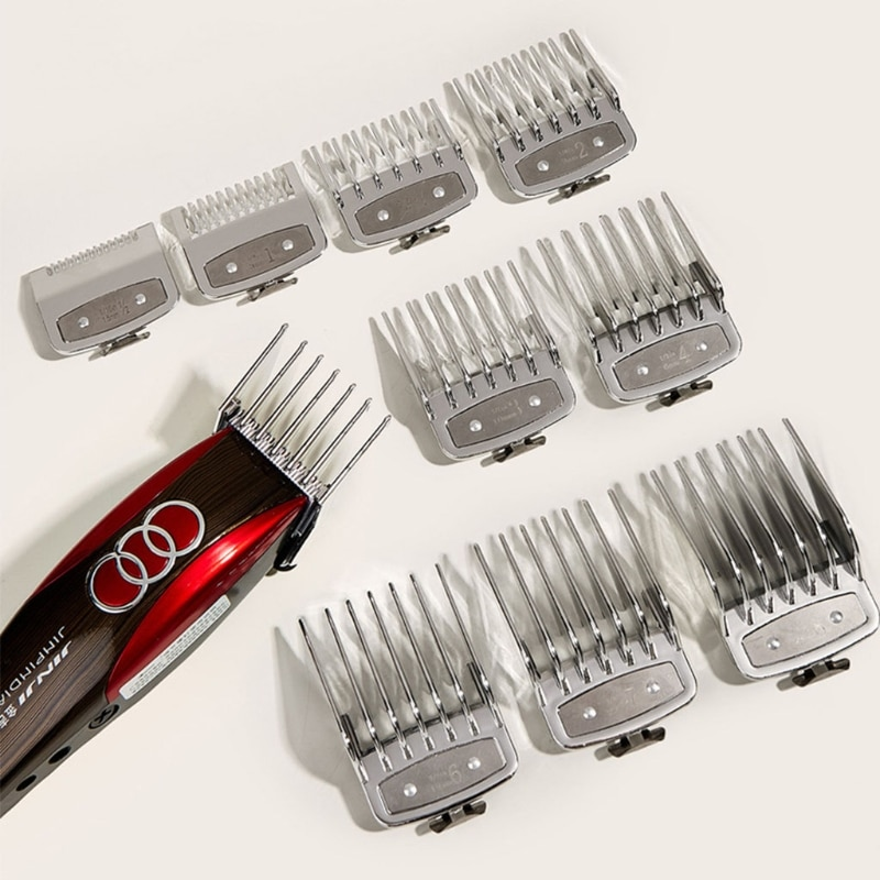 10PCS Hair Clipper Guide Comb Set for Hair Clippers Limit Combs Clipper Guards MOLF enlarge