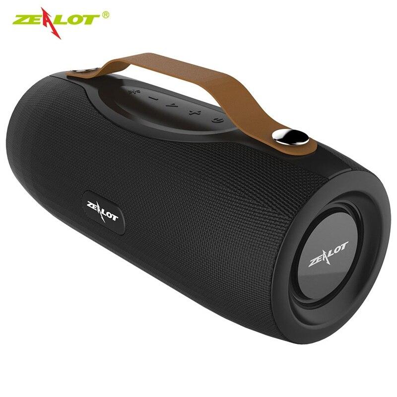 Zealot S29-مكبر صوت بلوتوث ، راديو FM ، مكبر صوت لاسلكي محمول ، Boombox ، بطارية طاقة مع مصباح يدوي ، يدعم TWS ، TF ، AUX ، محرك فلاش USB