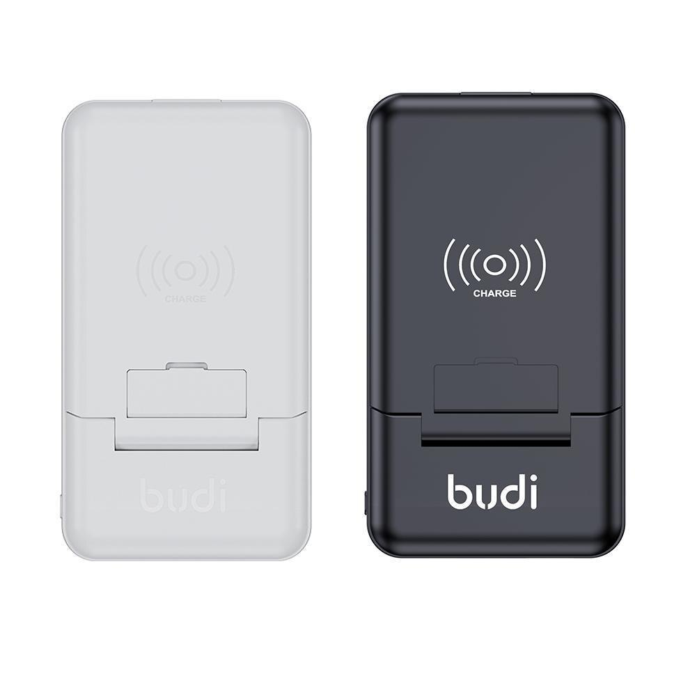 BUDI صندوق باور بانك متعدد الوظائف 10000mAh باور بانك 7 في 1 محول نوع C محول إلى المصغّر USB أندرويد Type-C