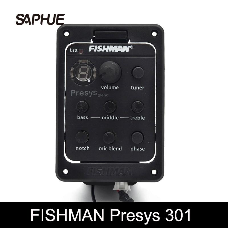 مضخم صوت مزدوج للصيد ، ميكروفون 301 ، موالف EQ ، بيزو