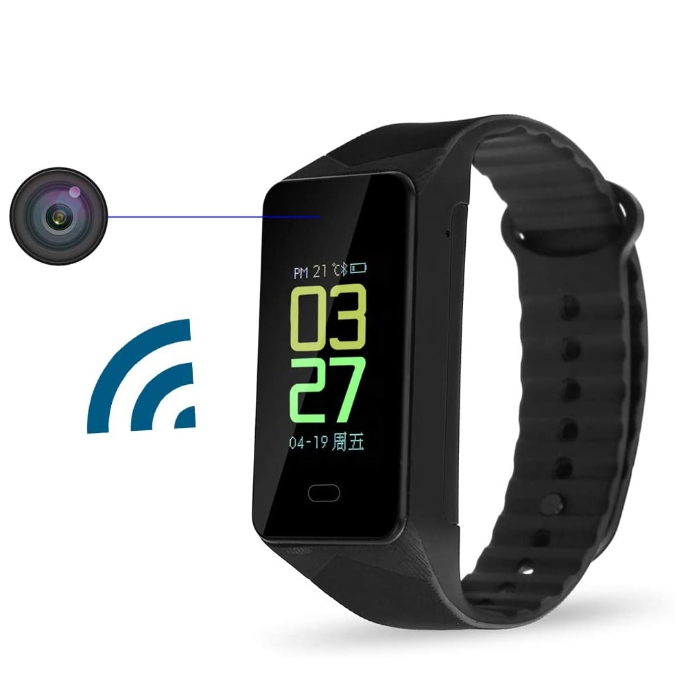 Mini Wearable Camera HD Wireless Wifi 1080P Surveillance Security Video Recorder Sports DV Bracelet