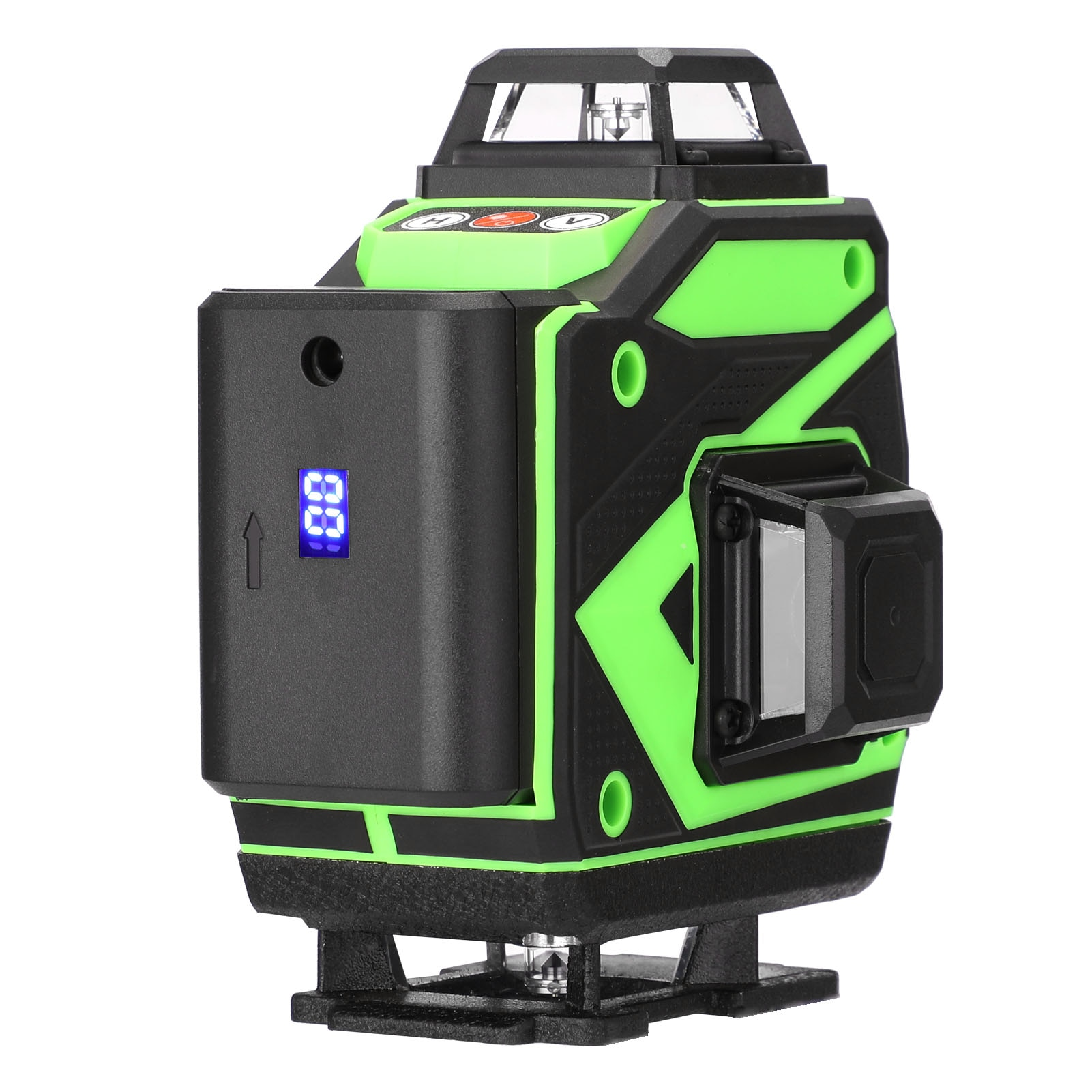 Multifunctional 16 Lines Laser Level Tool Vertical Horizontal with 3° Self-leveling Function