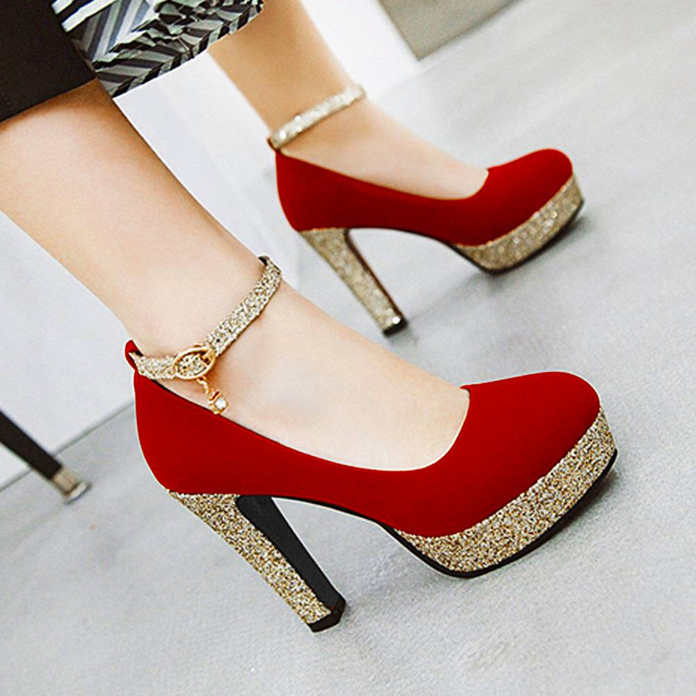 SARAIRIS 2020 ناضجة أنيقة المرأة مضخات جديدة رائجة البيع مثير عالية الكعب منصة Ins الزفاف مثير أحذية نسائية للحفلات