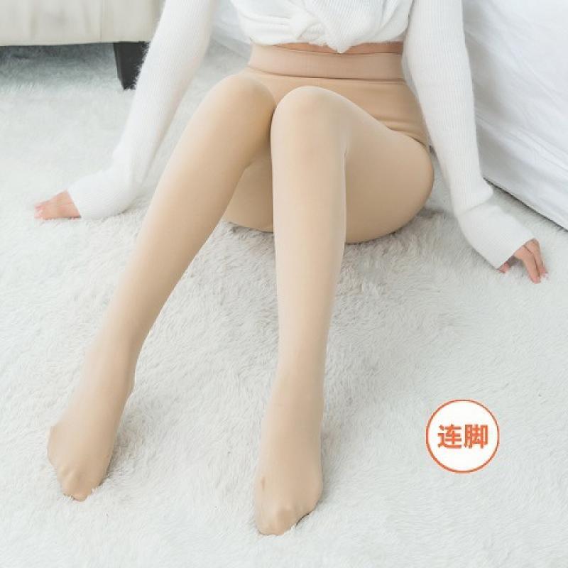 Женские теплые леггинсы с высокой талией, облегающие брюки, зимние бархатные плотные леггинсы с жемчугом, женские леггинсы стрейч, брюки