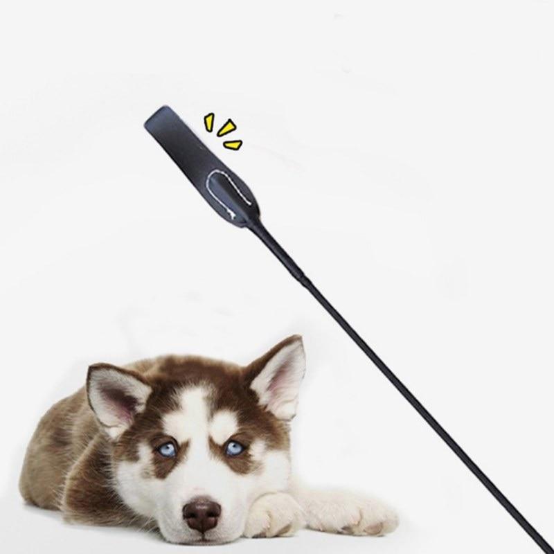 Dog Training Whips Long Handle Black Dog Behavior Management Stick Horse Riding Training Tool OZ