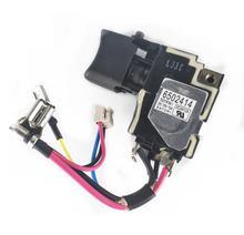 18V Interrupteur 650241-4 6502414 6507228 650722-8 pour Makita DTD134 BTD134 BTD146 DTD146 BTD146Z BTD134Z TD134D tournevis sans fil